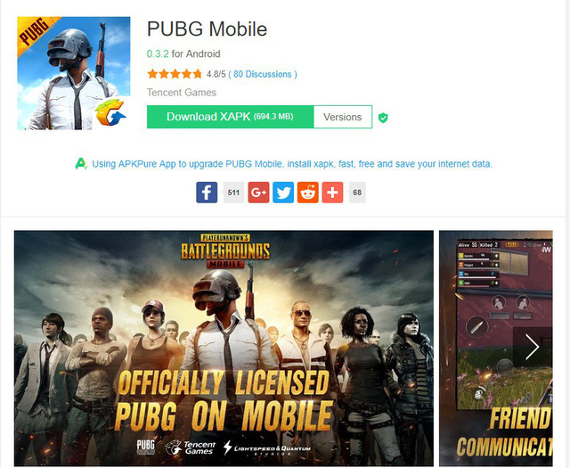 PUBG Mobile English Version Download