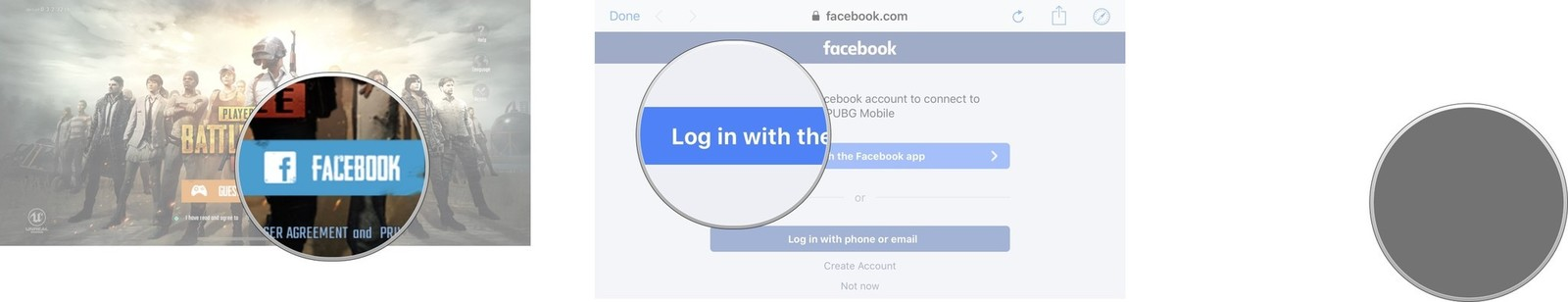 PUBG Mobile Facebook Mobile