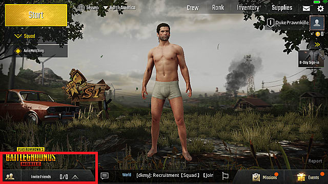 PUBG Mobile with Friend