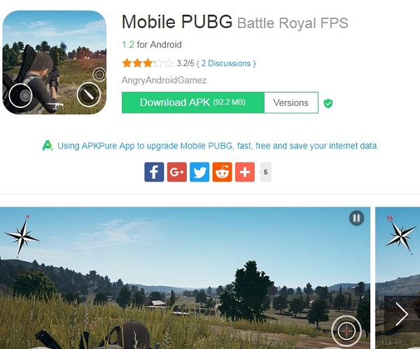 Download PUBG Google Play Store