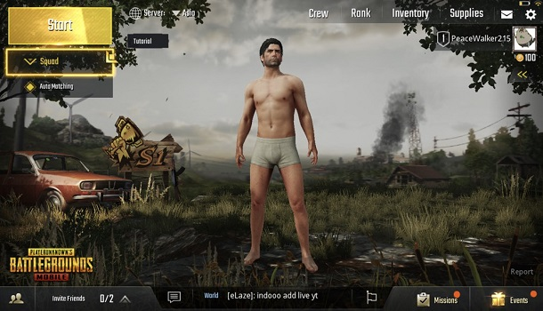 Testing PUBG Mobile Official Version