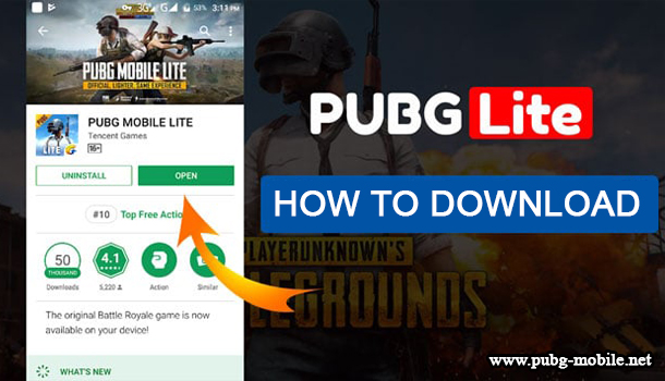 How to download a PUBG Mobile Lite? - PUBG Mobile