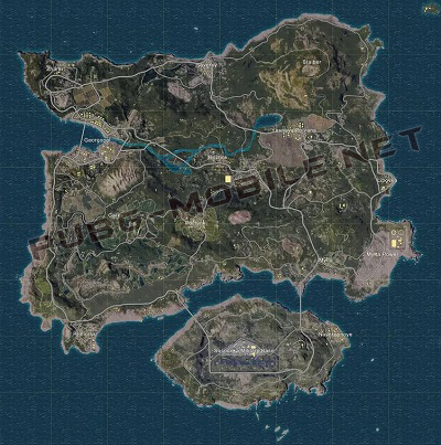 Erangel PUBG Mobile 5 Best Maps