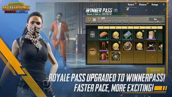 A New Winner Pass