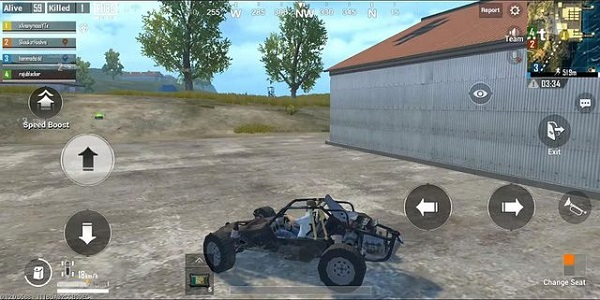 Vehicles in PUBG Mobile Lite are not crucial