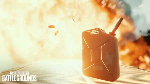 Explosive Gas Cans dropped in PUBG Mobile 0.15.0 Update
