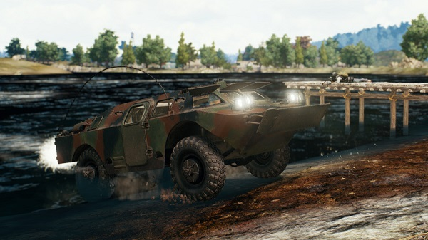 BRDM 2 - An Amphibious Tank of PUBG Mobile