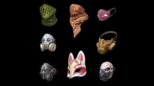 PUBG Mobile Masks