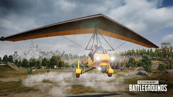 PUBG PC Update - Motor Glider