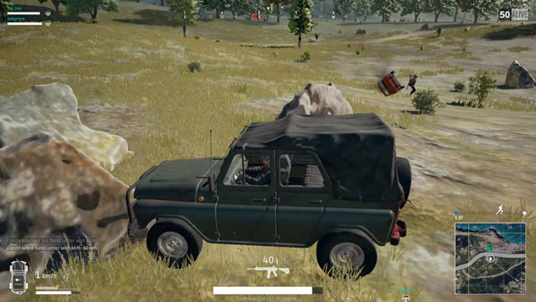 UAZ (Open Top) in PUBG Mobile