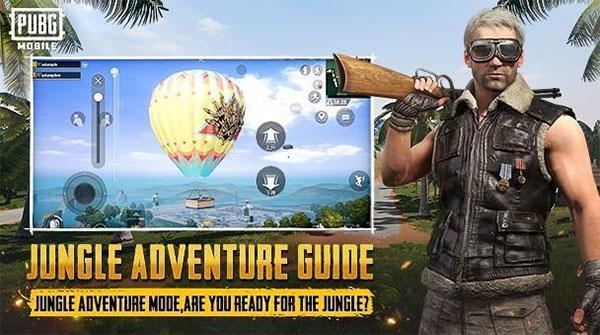 PUBG Mobile 0.18.0 Jungle Adventure Guide Mode
